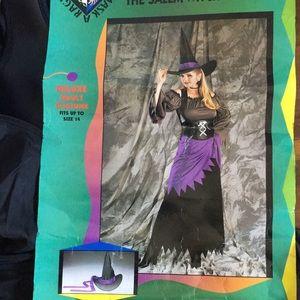 Cassandra the Salem witch Halloween costume